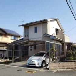 福知山市石原【3LDK】角地物件!アルミ製車庫やウッドデッキテラス完備!